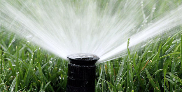 Automatic Garden Irrigation Spray Watering Lawn