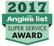 2017 Angies List Super Service Award for Pest Control and Lawn Care in Provo Utah