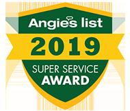 Angie's List Super Service Award 2019